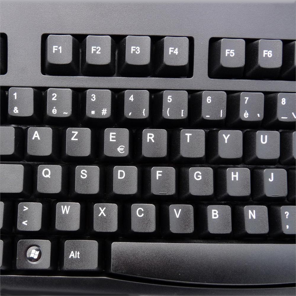 Solidtek Azerty Layout French Language USB Keyboard