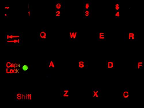 TG3 BLH-5RU Backlit Nema 4, USB Keyboard with Pointing Device