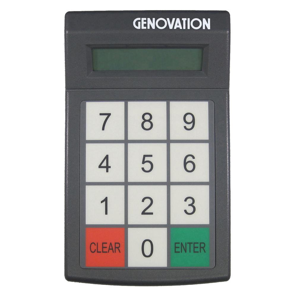 genovation miniterm 904-rj keypad 12-key membrane