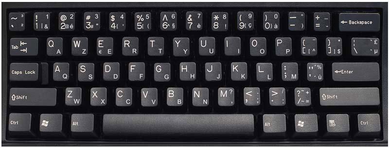 BELGIUM Keyboard