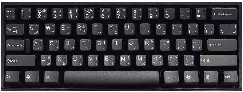 persian  farsi  keyboard labels