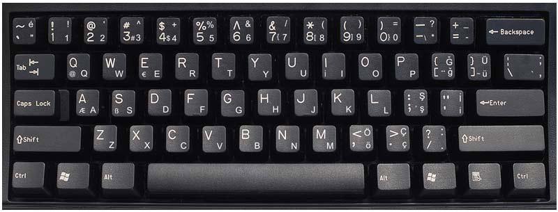 turkish q layout keyboard labels