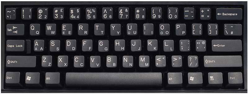united kingdom english keyboard labels dsi computer keyboards. Black Bedroom Furniture Sets. Home Design Ideas